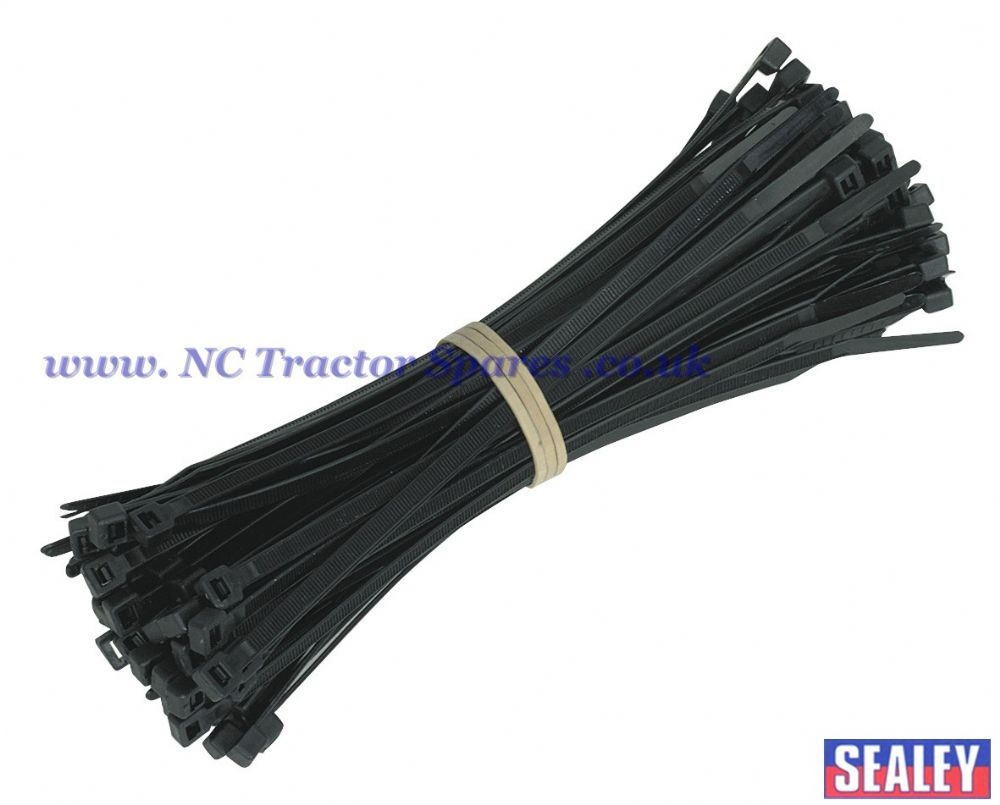 Cable Ties 4.8 x 200mm Pack of 100